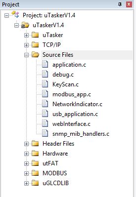 µTasker Kinetis Compiler Information